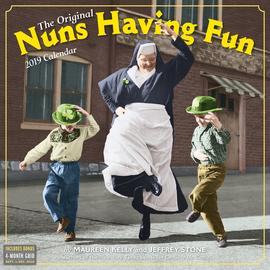 Nuns Having Fun Wall Calendar 2019 - cover