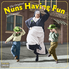 Nuns Having Fun Wall Calendar 2019 - cover