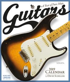 Guitars Wall Calendar 2019 - cover
