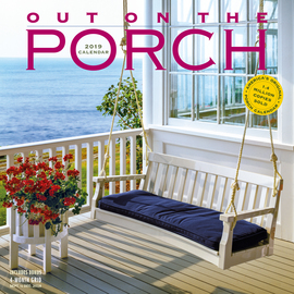 Out on the Porch Wall Calendar 2019 - cover