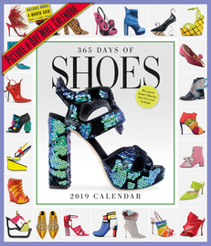 365 Days of Shoes Picture-A-Day Wall Calendar 2019 - cover