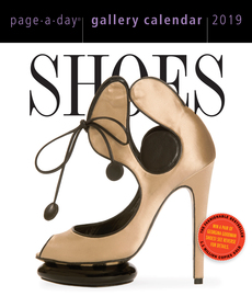 Shoes Page-A-Day Gallery Calendar 2019 - cover