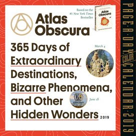 Atlas Obscura Page-A-Day Calendar 2019 - cover
