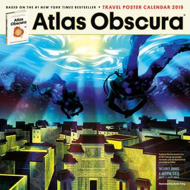 Atlas Obscura Wall Calendar 2019 - cover