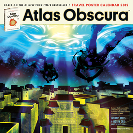 Atlas Obscura Wall Calendar 2019 - cover