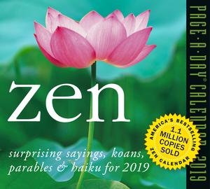 Zen Page-A-Day Calendar 2019 - cover