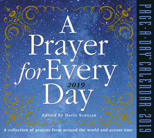A Prayer for Every Day Page-A-Day Calendar 2019 - cover