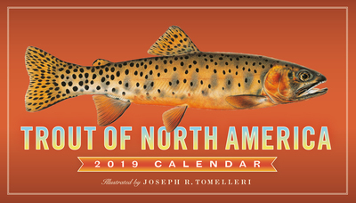 Trout of North America Wall Calendar 2019 - cover