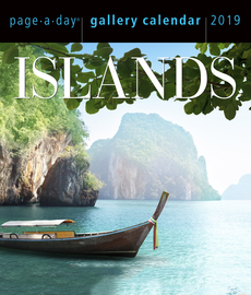 Islands Page-A-Day Gallery Calendar 2019 - cover