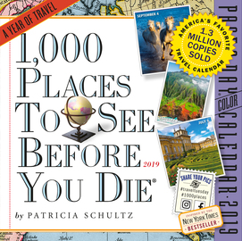 1,000 Places to See Before You Die Page-A-Day Calendar 2019 - cover