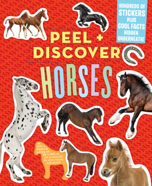 Peel + Discover: Horses - cover