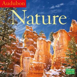 Audubon Nature Wall Calendar 2019 - cover