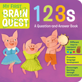 My First Brain Quest 123s - cover