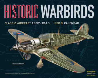 Historic Warbirds Wall Calendar 2019 - cover