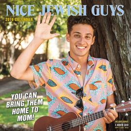 Nice Jewish Guys Wall Calendar 2019 - cover