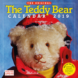 The Teddy Bear Wall Calendar 2019 - cover