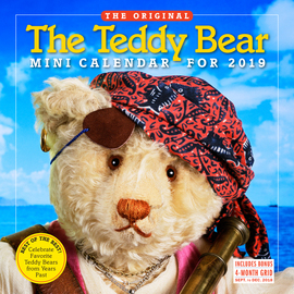 The Teddy Bear Mini Wall Calendar 2019 - cover