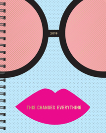 This Changes Everything 17-Month Large Planner 2019 - cover