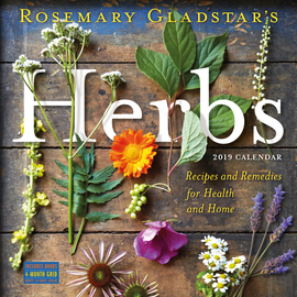 Herbs Wall Calendar 2019 - cover