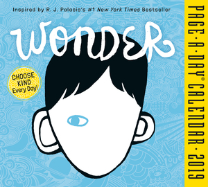 Wonder Page-A-Day Calendar 2019 - cover