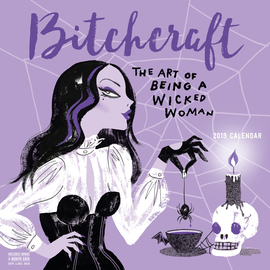 Bitchcraft Wall Calendar 2019 - cover