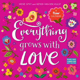 Everything Grows with Love Mini Wall Calendar 2019 - cover