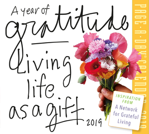 A Year of Gratitude Page-A-Day Calendar 2019 - cover