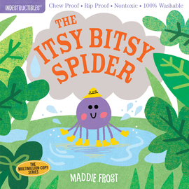 Indestructibles: The Itsy Bitsy Spider - cover