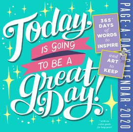 Today Is Going to Be a Great Day! Page-A-Day Calendar 2020 - cover