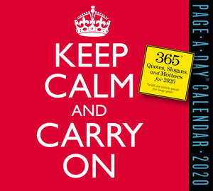 Keep Calm and Carry On Page-A-Day Calendar 2020 - cover