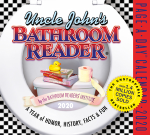 Uncle John's Bathroom Reader Page-A-Day Calendar 2020 - cover