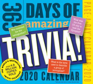 365 Days of Amazing Trivia! Page-A-Day Calendar 2020 - cover