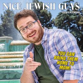 Nice Jewish Guys Wall Calendar 2020 - cover