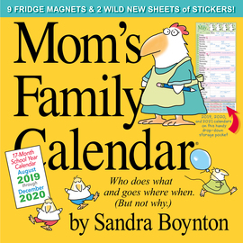 Mom's Family Wall Calendar 2020 - cover