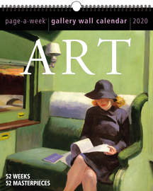 Art Page-A-Week Gallery Wall Calendar 2020 - cover