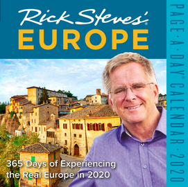 Rick Steves' Europe Page-A-Day Calendar 2020 - cover