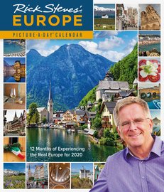 Rick Steves' Europe Picture-A-Day Wall Calendar 2020 - cover