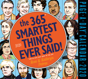 365 Smartest Things Ever Said! Page-A-Day Calendar 2020 - cover
