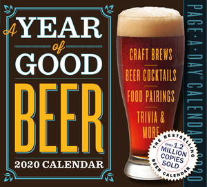 Year of Good Beer Page-A-Day Calendar 2020 - cover
