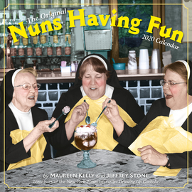 Nuns Having Fun Wall Calendar 2020 - cover
