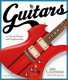 Guitars Wall Calendar 2020 - cover