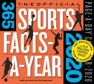 The Official 365 Sports Facts-A-Year Page-A-Day Calendar 2020 - cover