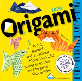 Origami Page-A-Day Calendar 2020 - cover