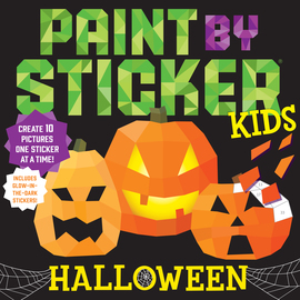 Paint by Sticker Kids: Halloween - cover