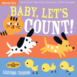 Indestructibles: Baby, Let's Count! - cover