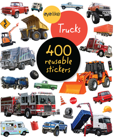 EyeLike Stickers: Trucks - cover