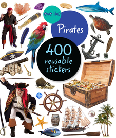 EyeLike Stickers: Pirates - cover