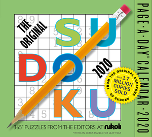 The Original Sudoku Page-A-Day Calendar 2020 - cover