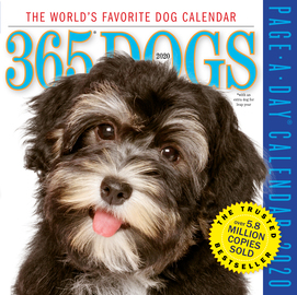 365 Dogs Page-A-Day Calendar 2020 - cover