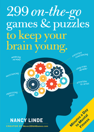 299 On-the-Go Games & Puzzles to Keep Your Brain Young - cover